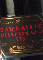 Agustí Torelló Mata Bayanus 375 2009