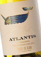Atlantis Txakoli de Álava Hondarrabi Zuri 2018