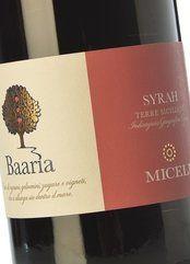 Miceli Baaria Syrah 2015