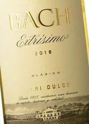 Bach Extrísimo Blanco Semi Dulce 2016
