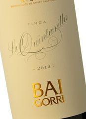 Baigorri FInca La Quintanilla 2012