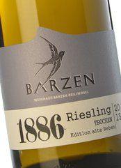 Barzen Alte Reben Riesling Trocken 1886 2017