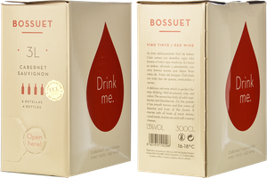 Drink Me Tinto Cabernet Sauvignon (Bag in Box 3L)