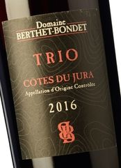 Berthet-Bondet Trio 2016