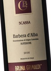 Bruna Grimaldi Barbera d'Alba Sup. Scassa 2016
