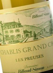 Billaud-Simon Chablis Grand Cru Les Preuses 2015