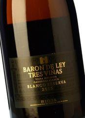 Barón de Ley 3 Viñas Blanco Reserva 2015