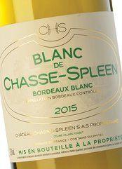 Blanc de Chasse-Spleen 2017