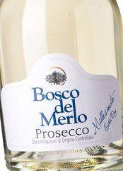 Bosco del Merlo Prosecco Extra Dry 2017