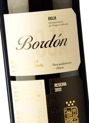 Rioja Bordón Reserva 2013