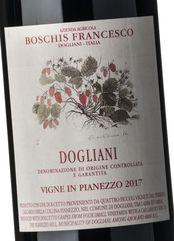 Boschis Dogliani Pianezzo 2017