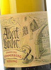 Albert Boxler Riesling Grand Cru Sommerberg 2016
