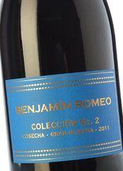 Benjamín Romeo C. Nº2 G Reserva Carmen Hilera 2012