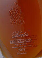 Berta Grappa Bric del Gaian 2011