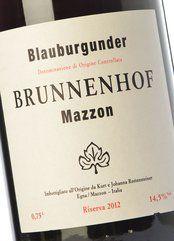 Brunnenhof Blauburgunder Riserva 2016