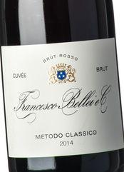 Bellei Extra Cuvée Brut Rosso Metodo Cl. 2014