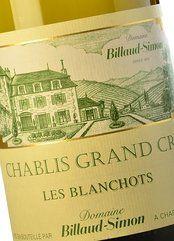 Billaud-Simon Chablis Grand Cru Les Blanchots 2015