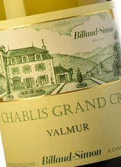Billaud-Simon Chablis Grand Cru Valmur 2015