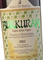 De Bartoli Bukkuram Padre della Vigna 2014 (0.5l)