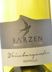 Barzen Weissburgunder Barrique 2016