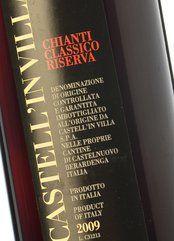 Castell'in Villa Chianti Classico Riserva 2009