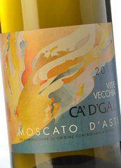 Ca' d' Gal Moscato d'Asti Vite Vecchia 2010