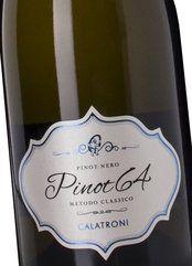 Calatroni Brut Pinot 64 2014