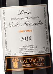 Calabretta Nerello Mascalese Vecchie Vigne 2010