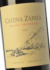 Catena Zapata Malbec Argentino 2013
