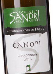 A. Sandri Chardonnay Canopi 2015