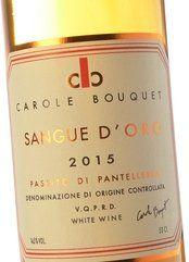 Carole Bouquet Pantelleria Sangue d'Oro 2015