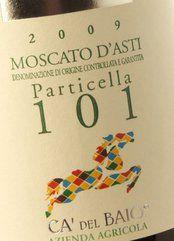 Ca'del Baio Moscato d'Asti Particella 101 2017