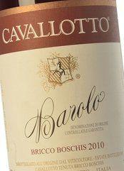 Cavallotto Barolo Bricco Boschis 2016