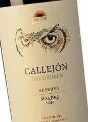 Callejón del Crimen Malbec Reserva 2017