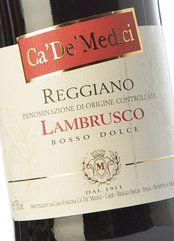 Ca' De' Medici Lambrusco Reggiano Dolce