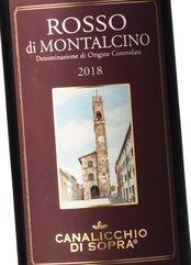 Canalicchio di Sopra Rosso di Montalcino 2018