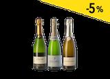 Las tres uvas clásicas del champagne