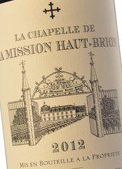 La Chapelle de La Mission Haut-Brion 2018 (PR)