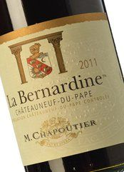 Chapoutier La Bernardine Rouge 2015