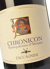 Zaccagnini Montepulciano d'Abruzzo Chronicon 2015