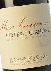 J. L. Chave Sélection Côtes Rhone Mon Coeur 2015