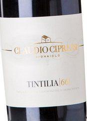 Cipressi Tintilia 66 2011