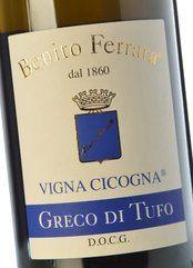 Benito Ferrara Greco di Tufo Vigna Cicogna 2018