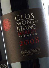 Clos Montblanc Merlot Únic 2015