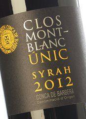 Clos Montblanc Syrah Únic 2016