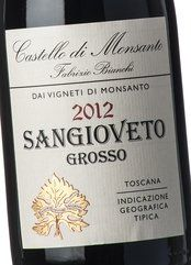 Castello di Monsanto Sangioveto F. Bianchi 2012