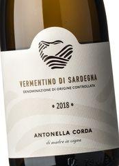 Antonella Corda Vermentino di Sardegna 2018