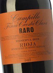 Campillo Raro Finca Cuesta Clara 2011