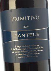 Cantele Primitivo 2017