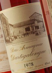 Armagnac Dartigalongue 1978
